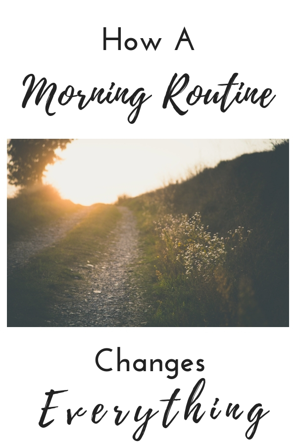 Are you craving a successful day? Read on to find how a morning routine changes EVERYTHING.