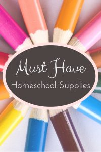 Must -Have-Homeschool-Supplies