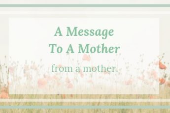 message-to-a-mother