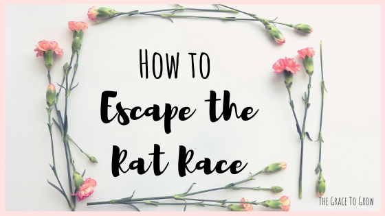 how-to-escape-the-rat-race-title-graphic