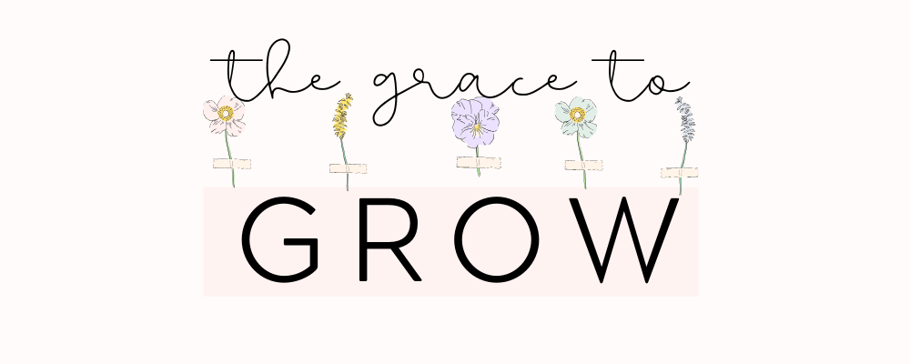 The Grace to Grow - Growing intentionally in faith and wellness.